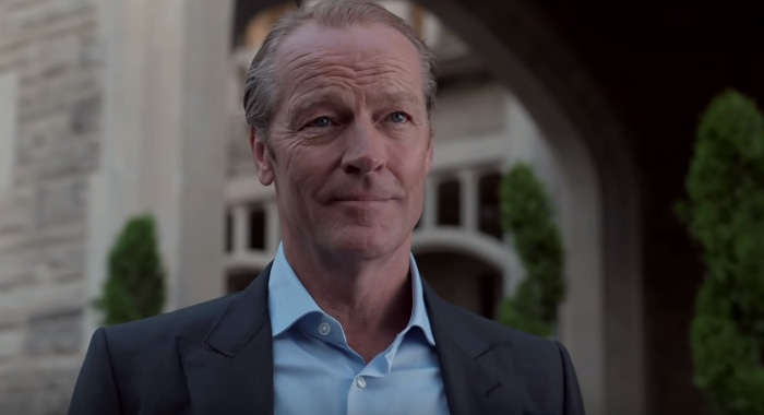 Iain Glen as Batman/Bruce Wayne in Titans season 2 trailer screencaps (DC Universe)