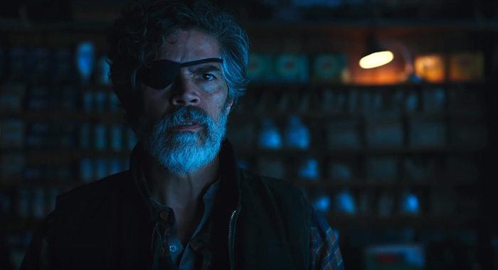 Esai Morales as Deathstroke/Slade Wilson in Titans season 2 trailer screencaps (DC Universe)