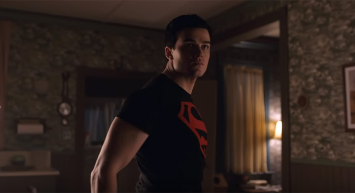 Joshua Orpin as Superboy/Conner Kent/Kon-El in Titans season 2 trailer screencaps (DC Universe)