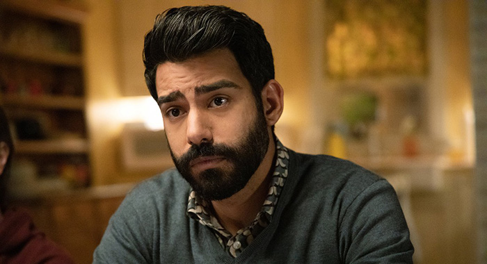 Rahul Kohli as Ravi Chakrabarti in iZombie (The CW)