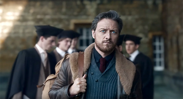 James McAvoy in His Dark Materials trailer screencap (HBO)