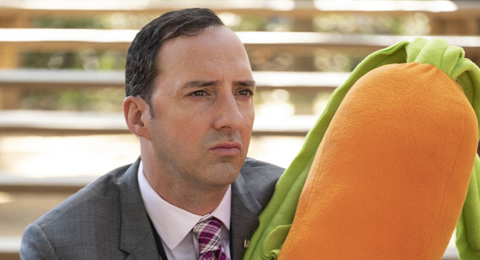 Veep, Episode 61 (Season 7, Episode 3), debuts 4/14/19: Tony Hale. photo: Colleen Hayes/HBO