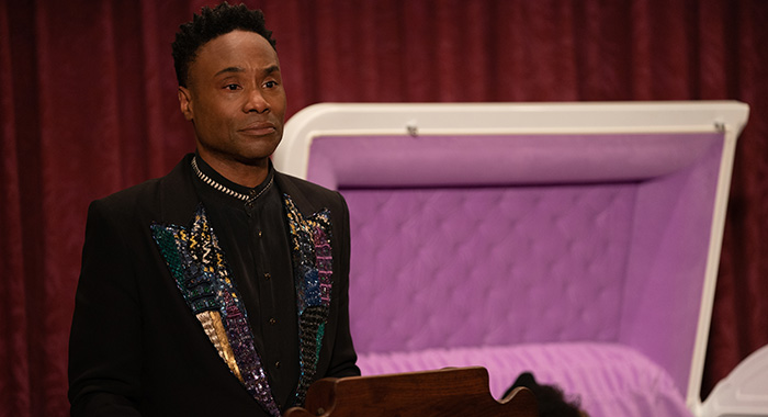 "POSE -- ""Never Knew Love Like This Before"" -- Season 2, Episode 4 (Airs Tues, July 9, 10:00 p.m. e/p) Pictured (l-r): Billy Porter as Pray Tell. CR: Macall Polay/FX"