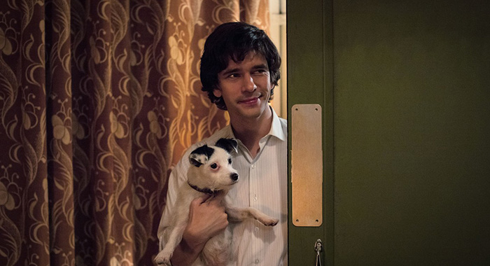 Ben Whishaw as Norman Scott in A Very English Scandal (Sophie Mutevelian; (C) Blueprint Television Ltd)