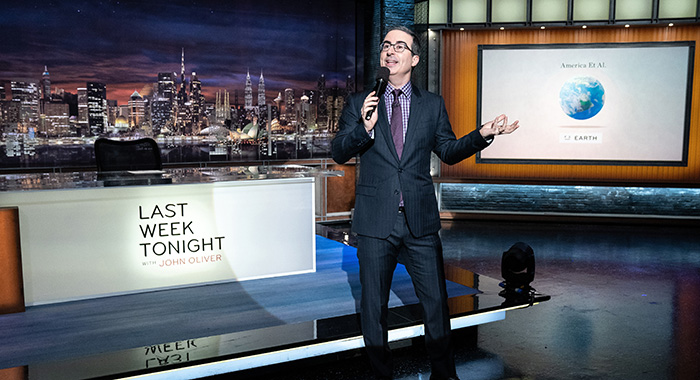 John Oliver March 3, 2019. photo: Lloyd Bishop/HBO