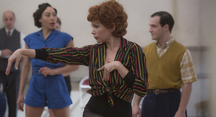 "FOSSE VERDON ""Who's Got the Pain"" Episode 2 (Airs Tuesday, April 16, 10:00 pm/ep) -- Pictured: Michelle Williams as Gwen Verdon. CR: Eric Liebowitz/FX"
