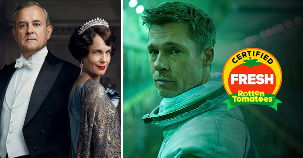 <em>Ad Astra</em> and <em>Downton Abbey</em> Are Certified Fresh