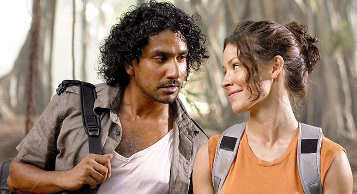 LOST, Naveen Andrews, Evangeline Lilly, (Season 1), 2004-2010. photo: © ABC/Courtesy Everett Collection