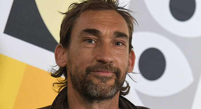 Joseph Mawle, an English actor, during the 12th Mastercard OFF Camera International Festival of Independent Cinema in Krakow. On Wednesday, May 1, 2019, in Krakow, Poland. (Photo by Artur Widak/NurPhoto via Getty Images)