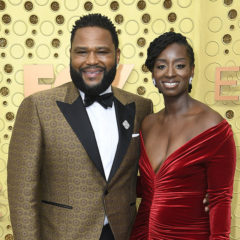 LOS ANGELES, CALIFORNIA - SEPTEMBER 22: (L-R) Anthony Anderson and Alvina Stewart attend the 71st Emmy Awards at Microsoft Theater on September 22, 2019 in Los Angeles, California. (Photo by Frazer Harrison/Getty Images)