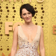 British actress Phoebe Waller-Bridge arrives for the 71st Emmy Awards at the Microsoft Theatre in Los Angeles on September 22, 2019. (Photo by VALERIE MACON / AFP) (Photo credit should read VALERIE MACON/AFP/Getty Images)