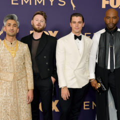 LOS ANGELES, CALIFORNIA - SEPTEMBER 22: (L-R) Tan France, Bobby Berk, Antoni Porowski, and Karamo Brown attend the 71st Emmy Awards at Microsoft Theater on September 22, 2019 in Los Angeles, California. (Photo by Matt Winkelmeyer/Getty Images)