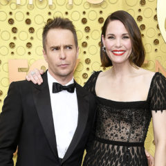 LOS ANGELES, CALIFORNIA - SEPTEMBER 22: (L-R) Sam Rockwell and Leslie Bibb attend the 71st Emmy Awards at Microsoft Theater on September 22, 2019 in Los Angeles, California. (Photo by Frazer Harrison/Getty Images)