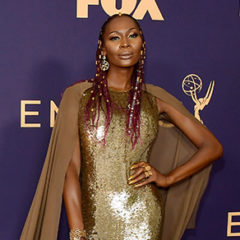 LOS ANGELES, CALIFORNIA - SEPTEMBER 22: Dominique Jackson attends the 71st Emmy Awards at Microsoft Theater on September 22, 2019 in Los Angeles, California. (Photo by Matt Winkelmeyer/Getty Images)