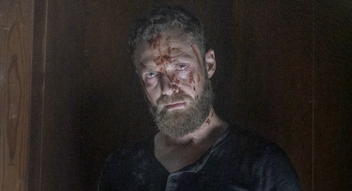 Ross Marquand as Aaron - The Walking Dead _ Season 10 - Photo Credit: Jackson Lee Davis/AMC
