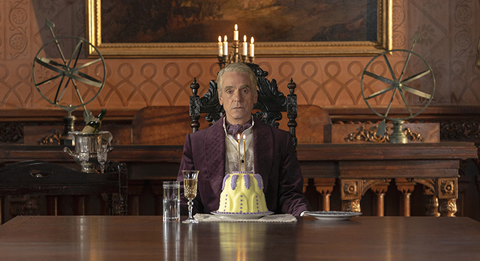 Jeremy Irons in Watchmen. photo: Colin Hutton/HBO