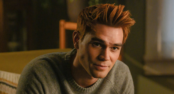 "Riverdale -- ""Chapter Fifty-Three: Jawbreaker"" -- Image Number: RVD318a_0216.jpg -- Pictured: KJ Apa as Archie -- Photo: Diyah Pera/The CW"