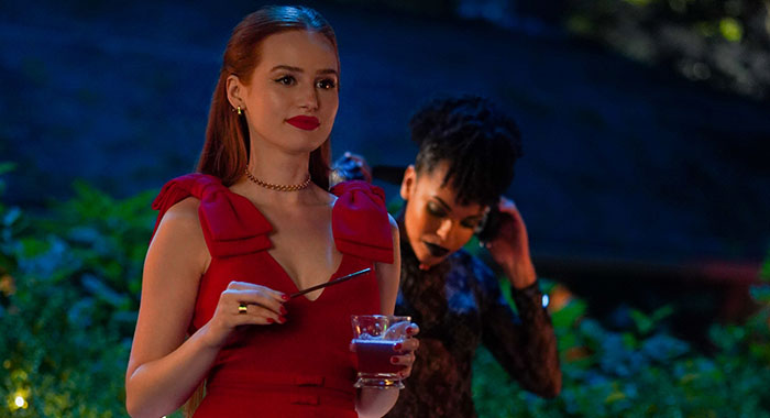 "Riverdale -- ""Chapter Fifty-Nine: Fast Times at Riverdale High"" -- Image Number: RVD402a_0166.jpg -- Pictured: Madelaine Petsch as Cheryl -- Photo: Colin Bentley/The CW"