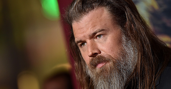 <em>The Walking Dead</em>'s Ryan Hurst Came Up With Alpha-Beta Backstory While Meditating
