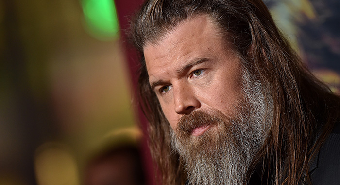 The Walking Deads Ryan Hurst Came Up With Alpha Beta