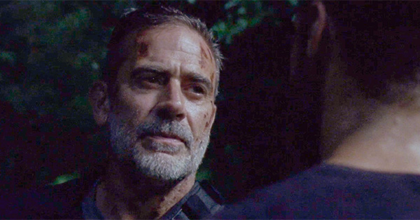<em>The Walking Dead</em> Exclusive Sneak Peek: Negan Provokes Aaron