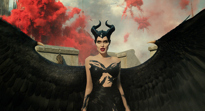 Angelina Jolie is Maleficent in Disney's MALEFICENT: MISTRESS OF EVIL. (Walt Disney Pictures)