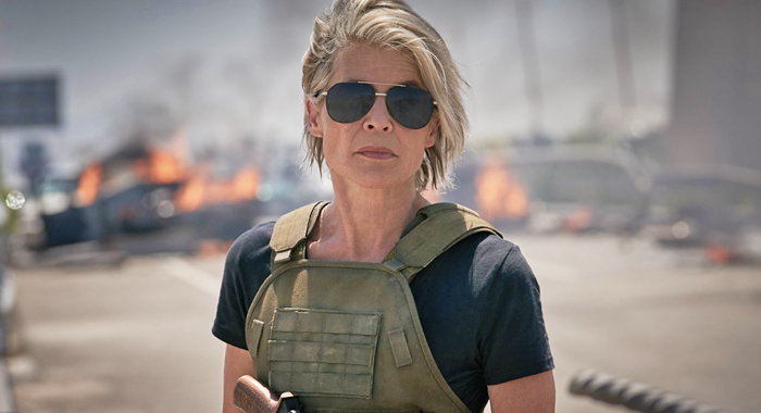 Linda Hamilton as Sarah Connor in Terminator: Dark Fate (Paramount Pictures)