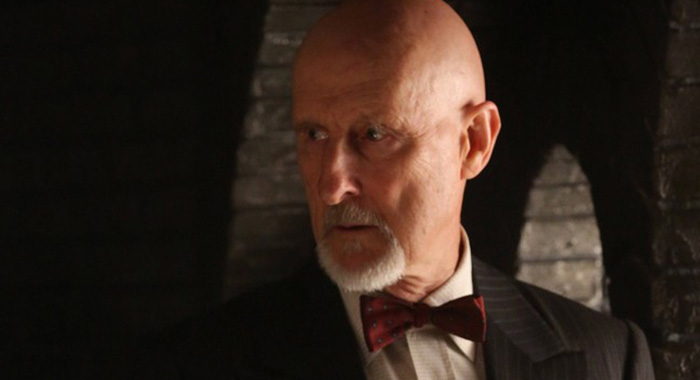 James Cromwell in American Horror Story: s2 origins of monstrosity (FX)