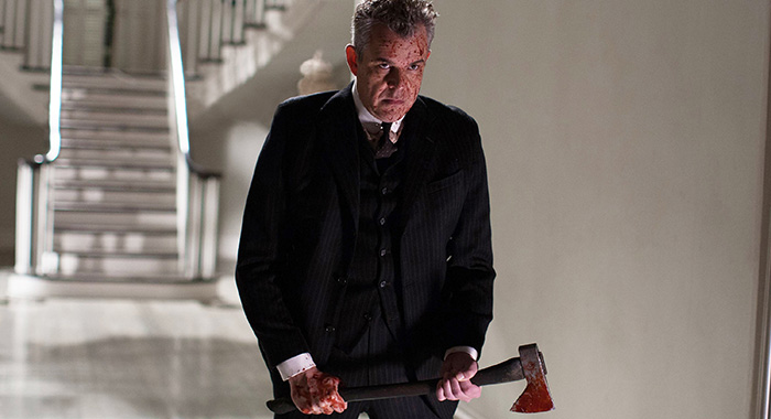 AMERICAN HORROR STORY: COVEN, Danny Huston in 'Go To Hell' (Season 3, Episode 12, aired January 22, 2014). ph: Michele K. Short/©FX Networks/courtesy Everett Collection