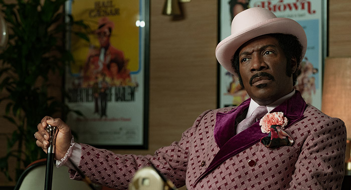 Eddie Murphy stars in DOLEMITE IS MY NAME! PHOTO CREDIT Francois Duhamel COPYRIGHT NETFLIX