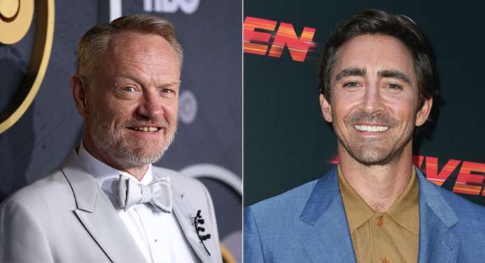 Jared Harris at the Emmys and Lee Pace at the Driven Hollywood premiere (Phillip Faraone/WireImage; Jon Kopaloff/Getty Images)