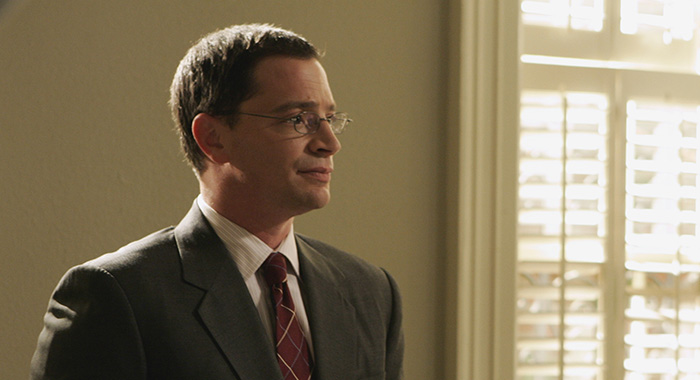 "THE WEST WING -- ""Tomorrow"" Episode 22 - Aired 05/14/2006 --Pictured: Joshua Malina as Will Bailey (Photo by Mitch Haddad/NBCU Photo Bank/NBCUniversal via Getty Images via Getty Images)"