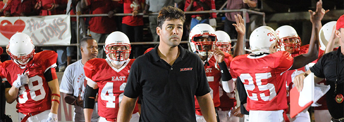 """FRIDAY NIGHT LIGHTS -- """"Perfect Game"""" Episode 507 -- Pictured: Kyle Chandler as Coach Eric Taylor -- Photo by: Bill Records/NBC/NBCU Photo Bank"""