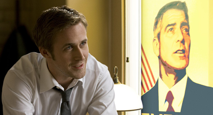 Ryan Gosling and George Clooney star in Ides of March (Sony Pictures)