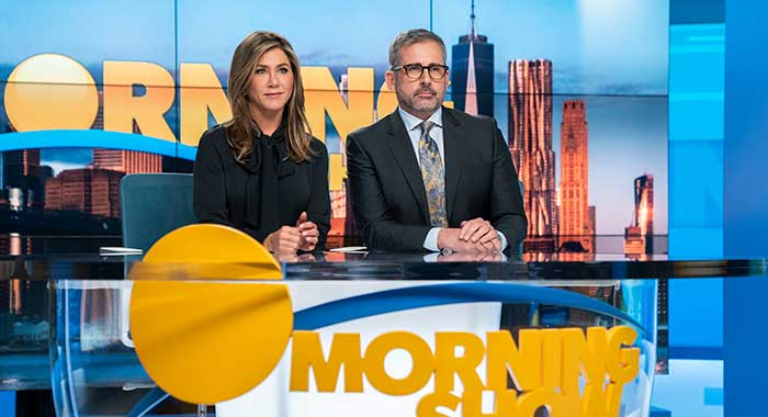 The Morning Show with Jennifer Aniston and Steve Carell