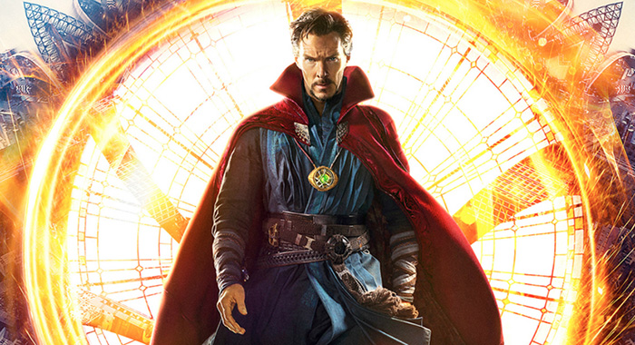 DOCTOR STRANGE, British poster, Benedict Cumberbatch, as Dr. Stephen Strange, 2016. © Walt Disney Studios Motion Pictures /Courtesy Everett Collection