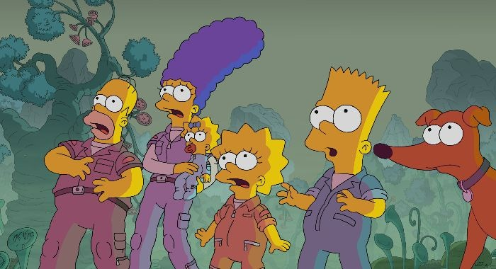 """""""Thanksgiving of Horror"""" episode of THE SIMPSONS airing Sunday, Nov. 24 (8:00-8:30 PM ET/PT) on FOX. THE SIMPSONS ™ and © 2019 TCFFC ALL RIGHTS RESERVED."""