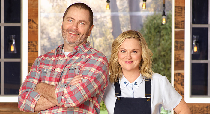 Amy Poehler, Nick Offerman in Making It (ABC)