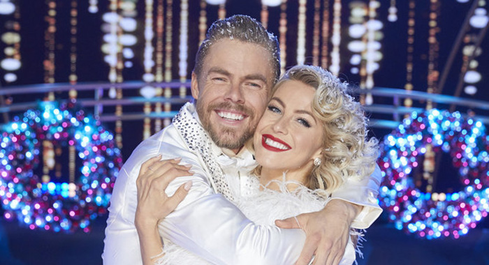 HOLIDAYS WITH THE HOUGHS -- Holidays with the Houghs -- Pictured: (l-r) Derek Hough, Julianne Hough -- (Photo by: Trae Patton/NBC)