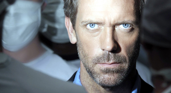 HOUSE, Hugh Laurie, (Season 3), 2004-, photo: Andrew Macpherson / TM and Copyright © 20th Century Fox Film Corp. All rights reserved, Courtesy: Everett Collection