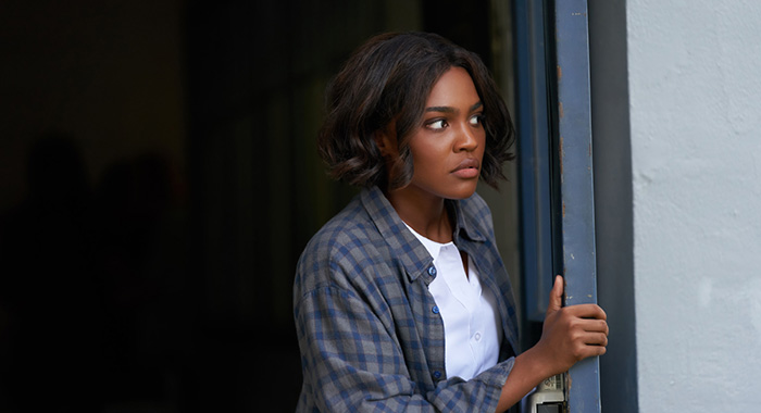 "Black Lightning -- ""The Book of Occupation: Chapter Five"" -- Image BLK305A_0295r.jpg -- Pictured: China Anne McClain as Jennifer -- Photo: Bob Mahoney/The CW -- © 2019 The CW Network, LLC. All rights reserved."