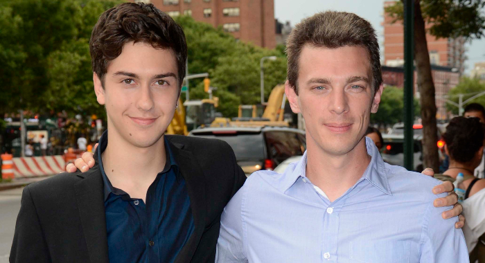 Nat Wolff and Josh Boone