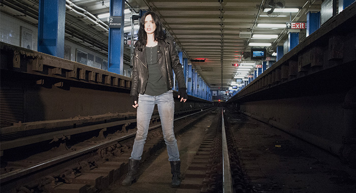 Marvel's Jessica Jones SEASON 1 PHOTO CREDIT Myles Aronowitz/Netflix PICTURED Krysten Ritter