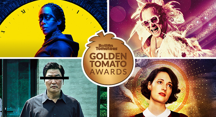 Golden Tomato Awards Best Movies Tv Of 2019 Rotten Tomatoes Movie And Tv News
