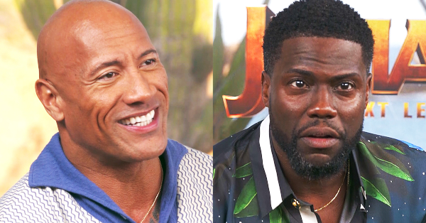 "Dwayne Johnson and Kevin Hart Face Their Critics In ""Name the Review"""