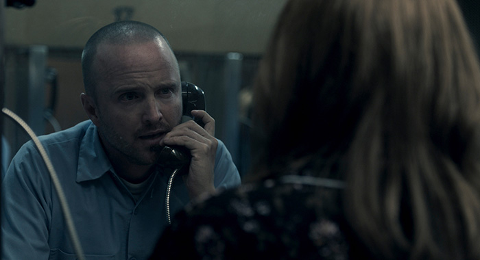 Aaron Paul in Truth Be Told s1 (Apple TV+)