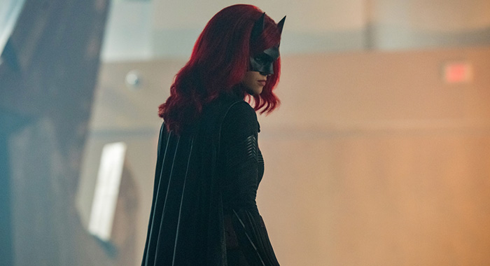 "Supergirl -- ""Crisis on Infinite Earths: Part One"" -- Image Number: SPG509c_0258r.jpg -- Pictured: Ruby Rose as Kate Kane/Batwoman -- Photo: Dean Buscher/The CW -- © 2019 The CW Network, LLC. All Rights Reserved."