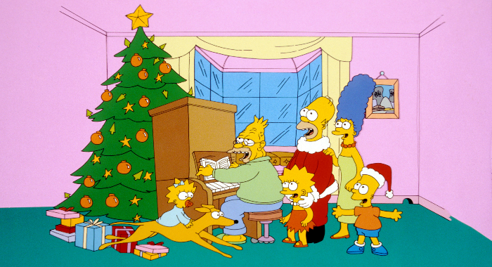 Simpsons - Roasting on An Open Fire