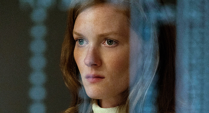 "Season 1 | Episode 1 Wrenn Schmidt in ""For All Mankind,"" now streaming on Apple TV+."