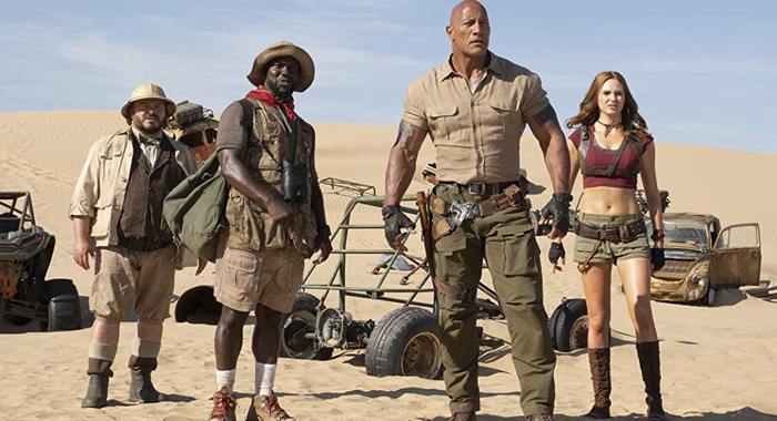 Weekend Box Office Results: Audiences Went to The Next Level for Jumanji